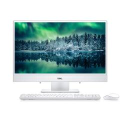 戴尔(DELL)灵越AIO 3480 IPS白色窄边框一体机台式电脑 23.8英寸(i3-8145U 4G 1T 2G独立显卡 FHD)